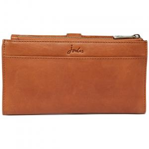 Joules Ladies Aycliffe Suede Purse Tan