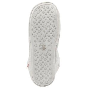 Joules Ladies Cabin Slippers Grey Spot