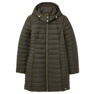 Joules Ladies Canterbury Long Jacket Heritage Green