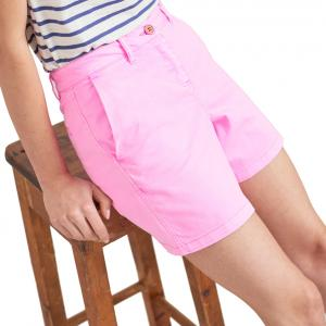 Joules Ladies Cruise Mid Chino Shorts Light Pink