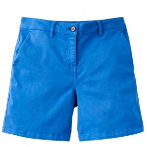 Joules Ladies Cruise Mid Chino Shorts Mid Blue