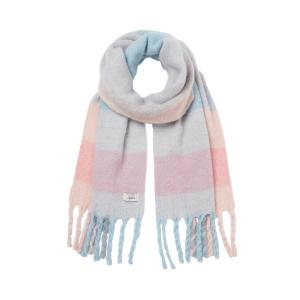 Joules Ladies Edgeworth Scarf Pink Large Check