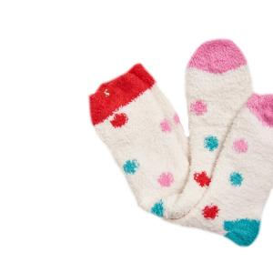 Joules Ladies Fab Fluffy Socks Cream Friyay Spot