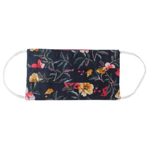 Joules Ladies Face Mask Navy Flower