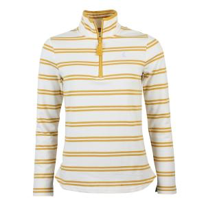 Joules Ladies Fairdale Sweatshirt Gold Stripe