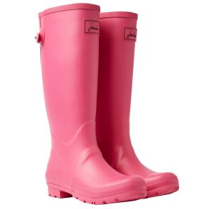 Joules Ladies Field Wellies Magenta