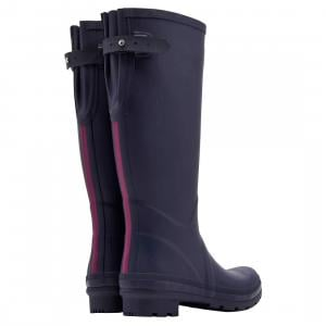 Joules Ladies Field Wellies French Navy