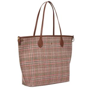 Joules Ladies Fulbrook Tote Pink Tweed