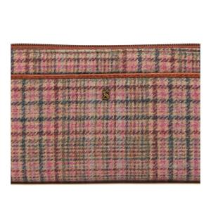 Joules Ladies Fulbrook Purse Pink Tweed