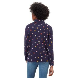 Joules Ladies Pip Print Sweatshirt Multi Ditsy