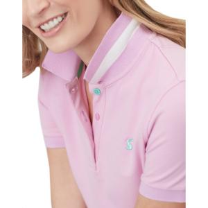 Joules Ladies Pippa Polo Shirt Light Pink