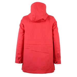 Joules Ladies Shoreside Waterproof A-Line Coat Poppy