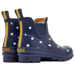 Joules Ladies Wellibob French Navy Spot
