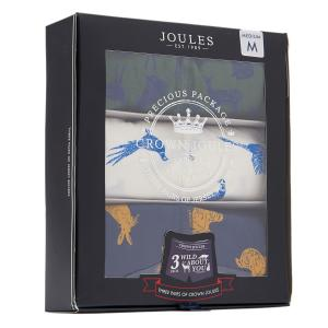 Joules Men Crown Joules Underwear 3 Pack Animal