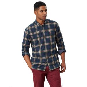Joules Mens Classic Buchannan Shirt Green Navy Check