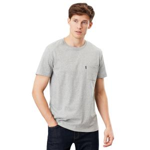 Joules Mens Denton Tee Grey Marl