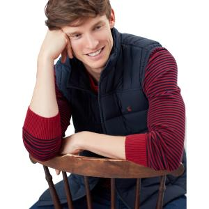 Joules Mens Go To Gilet Marine Navy