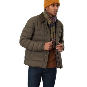 Joules Mens Tytherton Scarf Green Check
