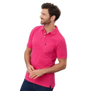 Joules Mens Whitby Polo Bright Pink