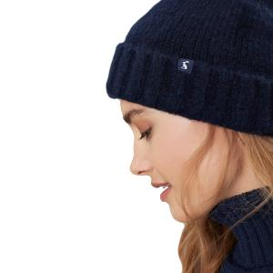 Joules Snugwell Hat French Navy