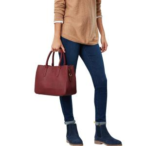 Joules Ladies Thernwell PU Bright Bag Berry Blush