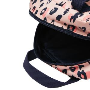 Joules Venture Backpack Pink Leopard