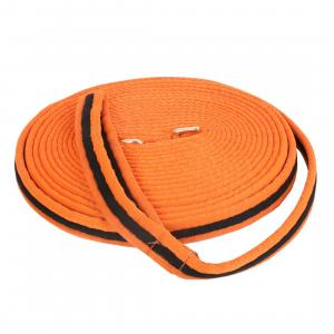 Kincade Brights Two Tone Padded Lunge Line Orange/Black
