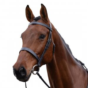 Kincade Hunt Cavesson Bridle Black