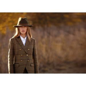 Alan Paine Ladies Surrey Double Breasted Blazer Olive