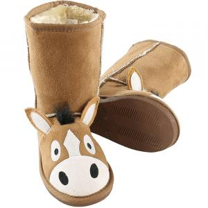 Lazy One Childrens Toasty Toez Slipper Boots Horse