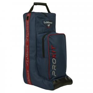 LeMieux Boot Bag Navy/Red