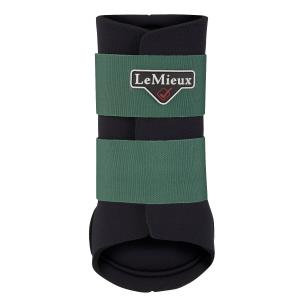 LeMieux Grafter Brushing Boots Hunter Green