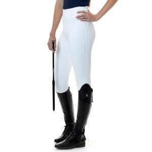 LeMieux Ladies Activewear Pull On Summer Breeches White