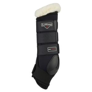 LeMieux Merino+ Protector Boots Black/Natural