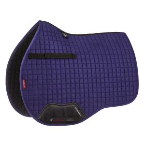 LeMieux ProSport Suede General Purpose Square Saddle Pad Ink Blue