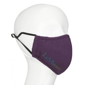 LeMieux Reusable Face Mask Plum