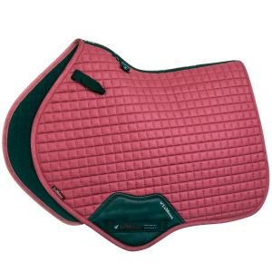 LeMieux Suede Close Contact Square Saddle Pad French Rose