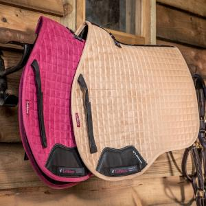 LeMieux Suede GP Square Saddle Pad French Rose