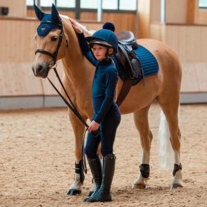 LeMieux Young Rider Pull On Breeches Indigo