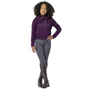 LeMieux Young Rider Cropped Hoodie Grape
