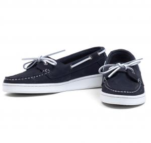 Barbour Ladies Miranda Boat Shoes Navy Nubuck