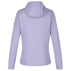 Regatta Ladies Terota Lightweight Full Zip Hooded Fleece Lilac Bloom