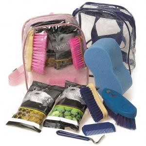 Lincoln Grooming Kit and Treats Bag Pink