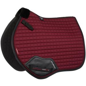 LeMieux Junior Pro GP/Jump Saddle Pad Burgundy