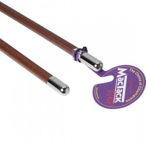 MacTack Show Cane Metal Cap Brown