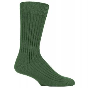 Country Pursuit Short Military Action Socks Green