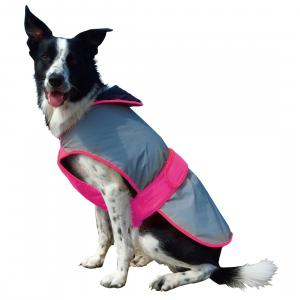 Equisafety Mercury Dog Coat Pink