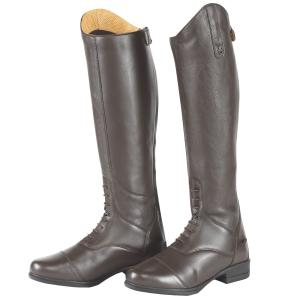 Moretta Mens Gianna Riding Boots Brown