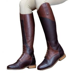 Moretta Ladies Pietra Tall Riding Boots Chestnut