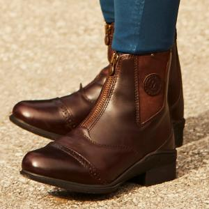 Mountain Horse Ladies Aurora Paddock Boots Brown